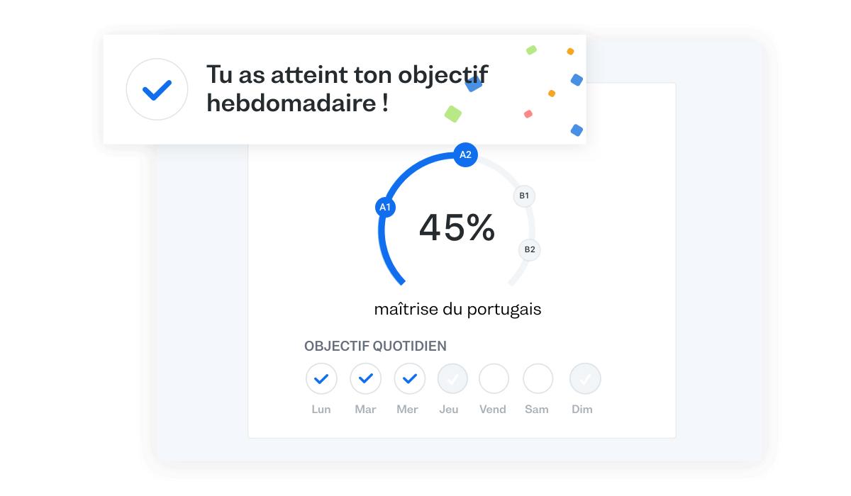 Progresse plus rapidement en portugais avec ton plan d'études