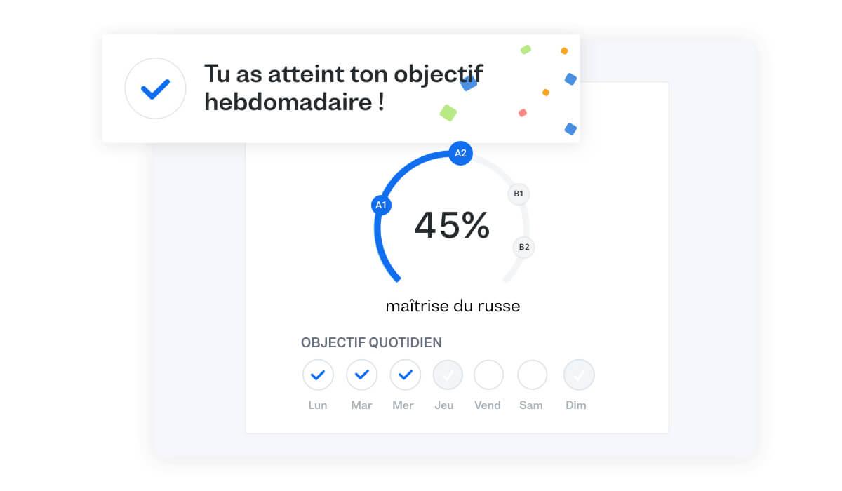 Apprends à parler le russe couramment avec notre plan d'études