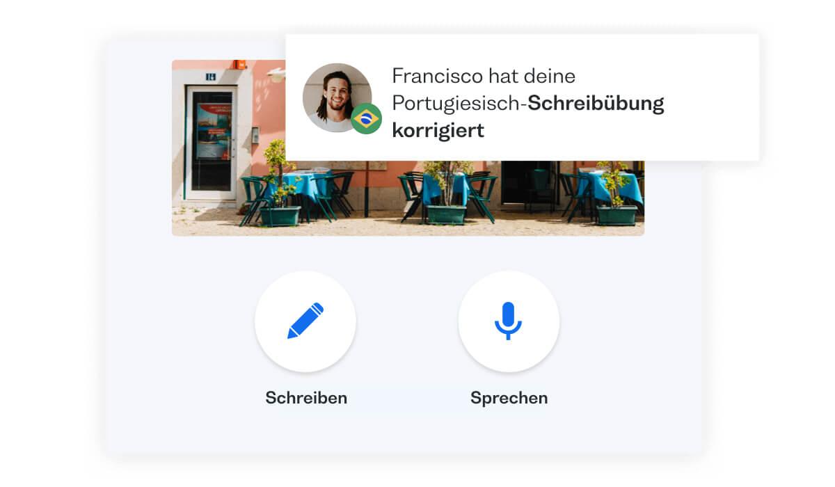 Gemeinsam mit Muttersprachlern Portugiesisch üben: lerne Portugiesisch
